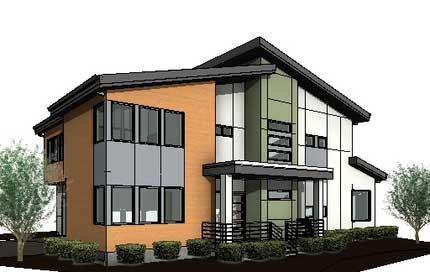 Sun Ridge Model Home